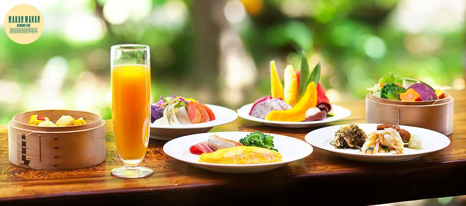 ブレックファーストブッフェ Breakfast Buffet