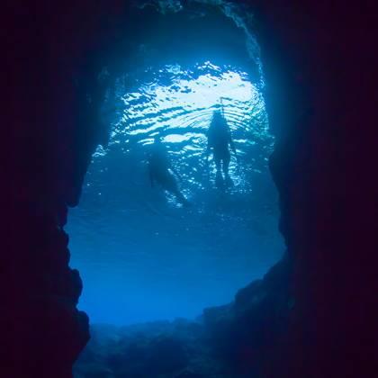 シュノーケルツアー <青の洞窟>