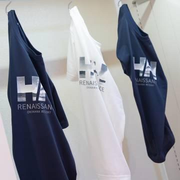 HELLY HANSEN × RENAISSANCE RESORT OKINAWAのTシャツ
